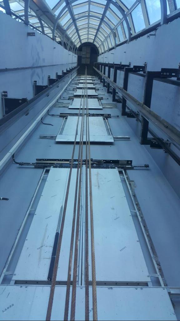 impianto di trazione ascensore